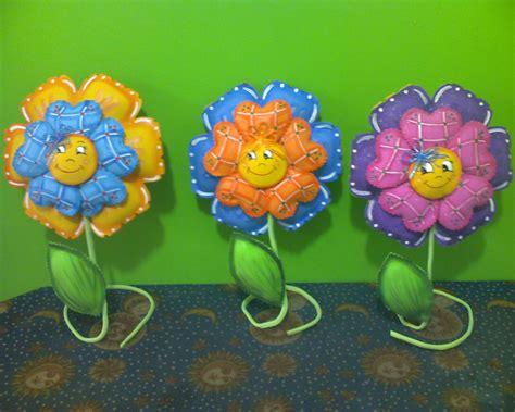 imagenes de flores fomix lindas flores en foami imagui