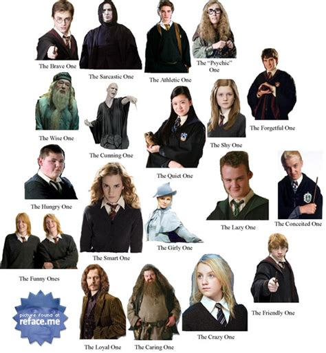 best harry potter characters list of favorite characters harry potter character quotes quotesgram