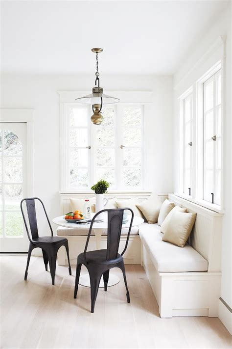 banquette in kitchen the most beautiful kitchen banquettes we ve seen mydomaine