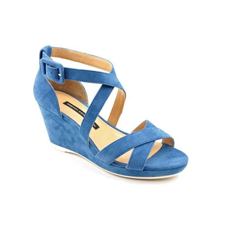 blue wedge sandals womens blue wedge sandals 28 images vita aquila w