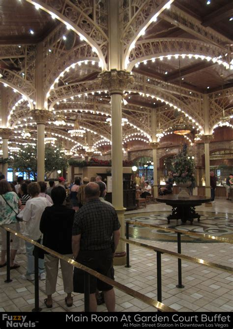 downtown las vegas buffets vintage architecture at the garden court buffet in las vegas fuzzy navels