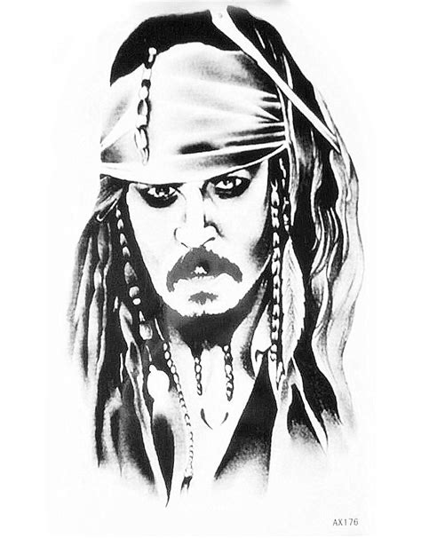 popular jack sparrow stickers buy cheap jack sparrow