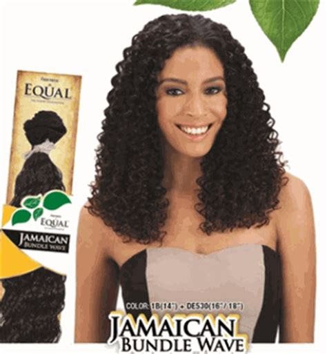 jamaican hairstyles weave freetress equal jamaican bundle wave weave 14 inch