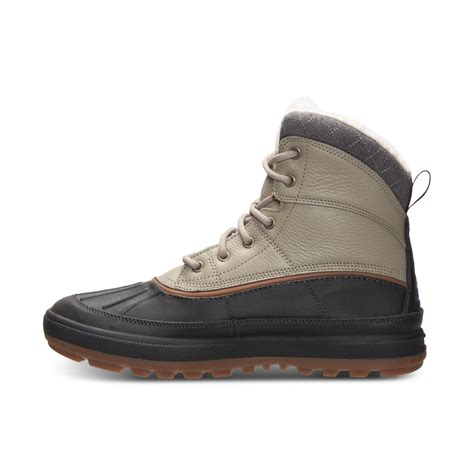 nike boots lyst nike woodside ii outdoor boots in black for