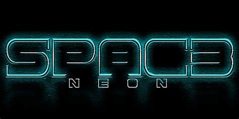 dafont neon spac3 neon font dafont com