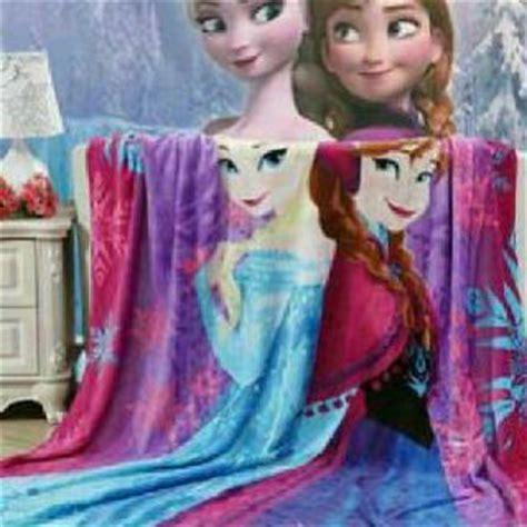 Selimut Frozen Uk160x200 selimut lucu karakter toko bunda