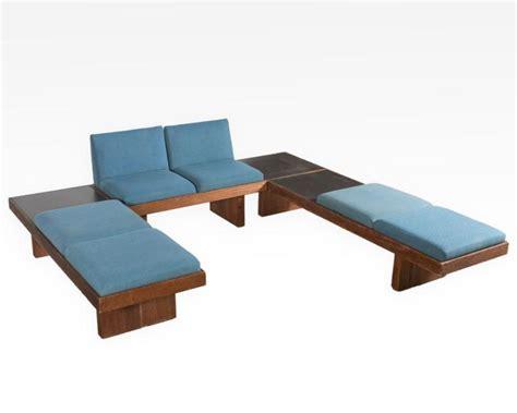 conversation pit couch harvey probber conversation pit sofa signed