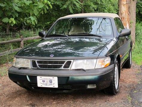 buy used 1995 saab 900 s convertible 1 owner kansas 38 811 original miles in
