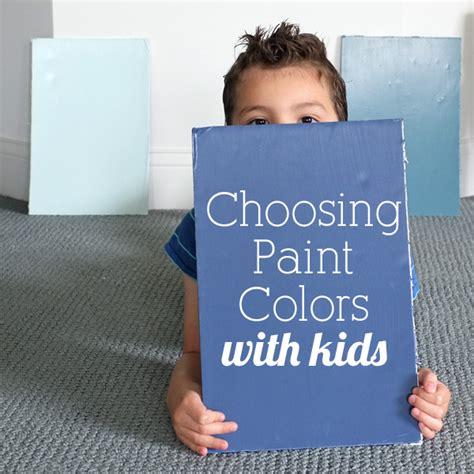 choosing a paint color decorating with kids choosing paint colors