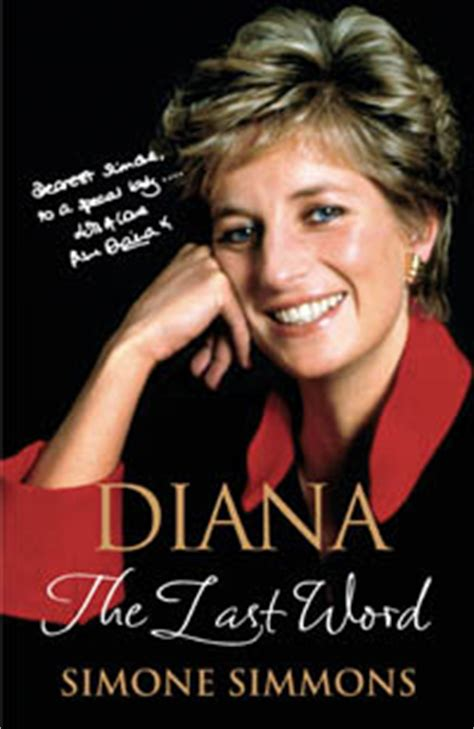 biography of lady diana book diana the last word biography by simone simmons