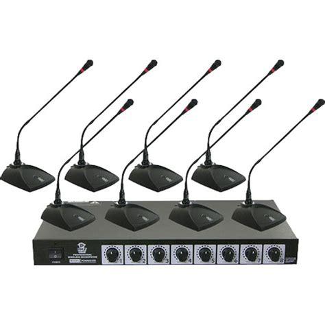 Mic Wireless Conference Hy 8002 pyle pro pdwm8300 vhf wireless conference microphone pdwm8300