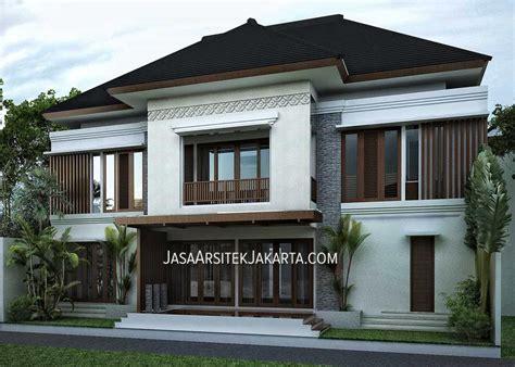 desain rumah jakarta desain rumah mewah luas 900m2 milik bu hasan jakarta