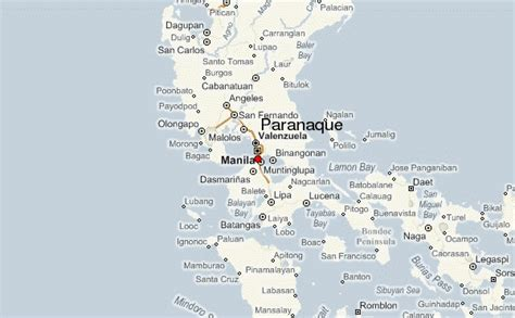 map of paranaque city paranaque location guide
