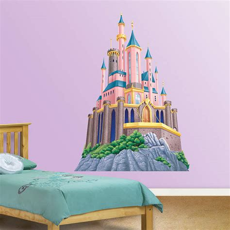 castle wall sticker disney princess castle fathead wall decal