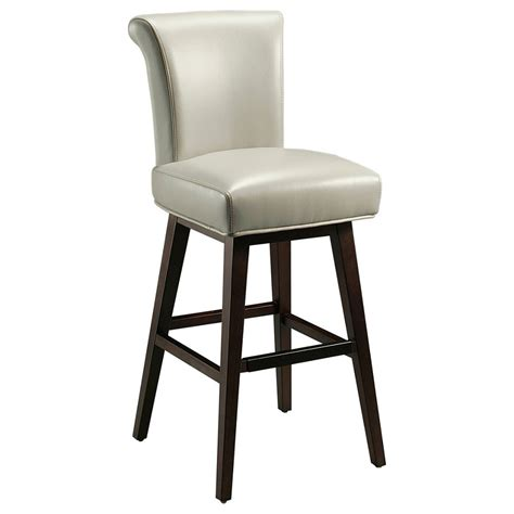 light grey bar stools dreamfurniture com pastel furniture hannah 30 bar