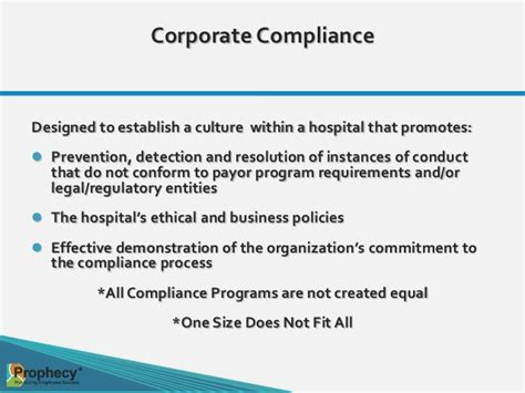 Compliance Mba Programs by Keeping Up And Staying Ahead The Components Of An