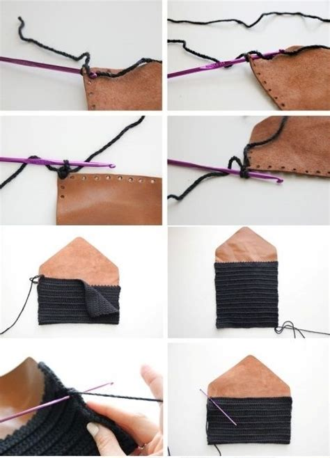 Art And Craft Home Decor Handmade Leather Clutch Diy Crafts Pinterest Leather