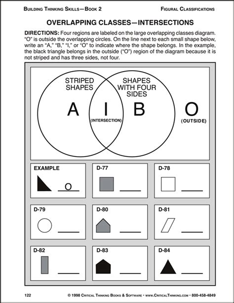 Skills Worksheet Critical Thinking Analogies Answers by Building Thinking Skills Book 2 Exodus Books