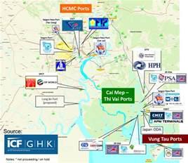 Newly Built vietnam container port developments eft supply chain