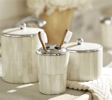 Bone Inlay Bath Accessories Pottery Barn Pottery Barn Bathroom Accessories