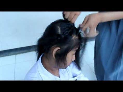 tutorial mengepang rambut annisa juliana tutorial mengepang rambut youtube