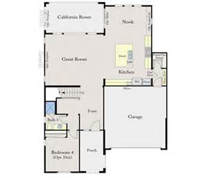 Standard Pacific Floor Plans by Standard Pacific Calatlantic Homes Villagio Promontory