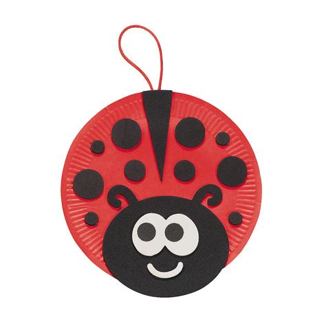 Paper Ladybug Craft - ladybug paper plate project f models picture