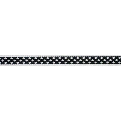 Ribbon Dot Black 7 16 ribbon polka dot black white digital scrapbooking