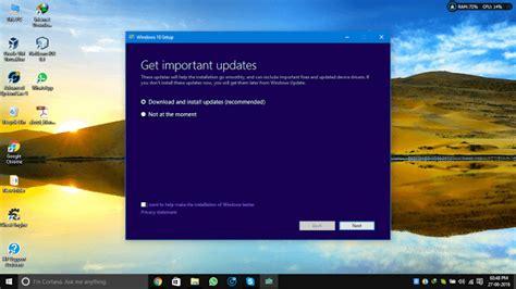 install windows 10 manually how to manually install windows 10 anniversary update