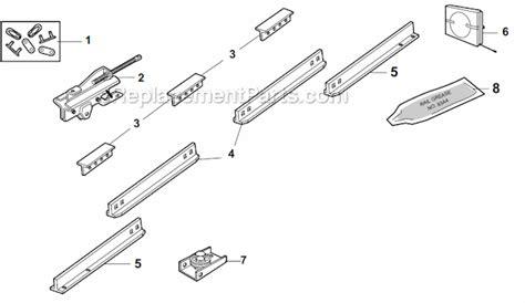 Chamberlain Garage Door Opener Repair Parts by Chamberlain 710whc Parts List And Diagram