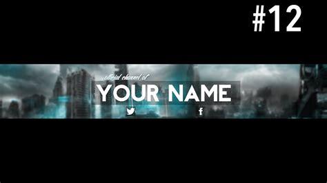 youtube banner template 2015 by garcinga10 on deviantart