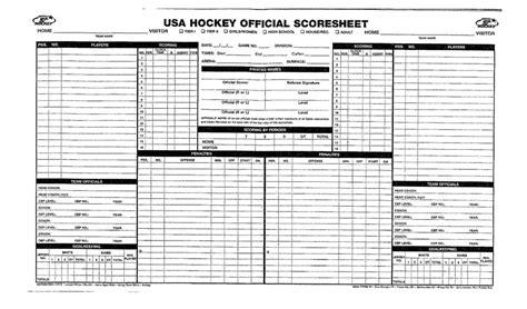 sle hockey score sheet scoresheet basketball dummies basketball scores
