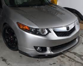 jdp engineering carbon front lip spoiler acura tsx 09 10