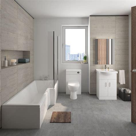 Modern Bathroom Suite by Mayford Complete Bathroom Suite Own Brand Obpack173