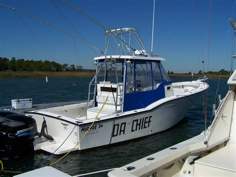 jim boat prices mirage 34 sportfish price reduced again now 100 000
