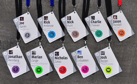 f8 conference badges fonts in use