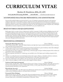 Curriculum Vitae Clinical Psychology by Curriculum Vitae Matthewhambleton