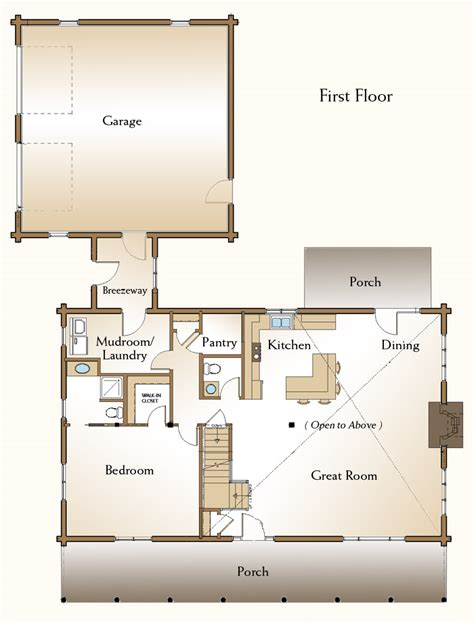 real log homes floor plans the covington log home floor plans nh custom log homes
