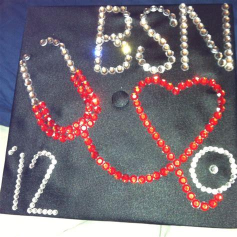 graduation cap for nurses grad cap ideas