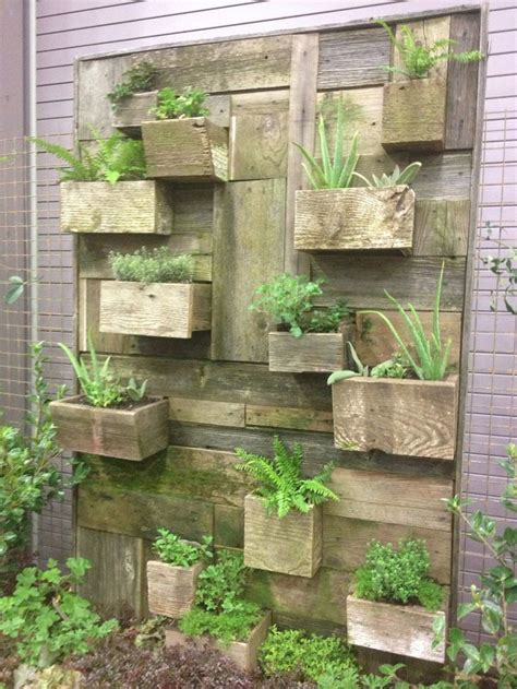 Vertical Garden Planters by Vertical Vegetable Garden House Design With Diy Wall