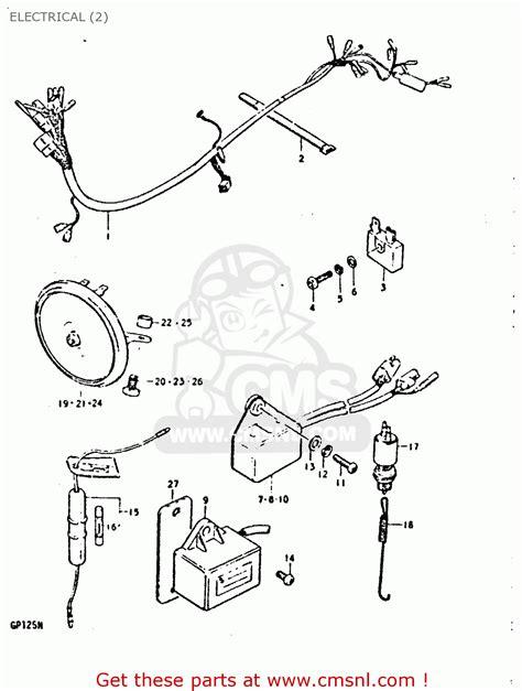 suzuki gp wiring diagram torzone org suzuki auto wiring