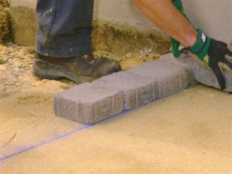 build paver patio build a patio with pavers how tos diy