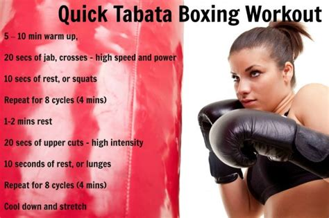tabata boxing workout
