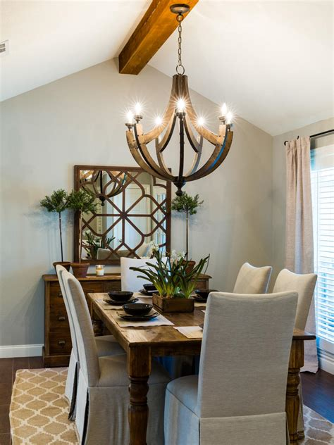 Dining Room Chandelier Lighting 1968 Fixer In An Neighborhood Gets A Fresh Update Hgtv S Fixer With Chip And