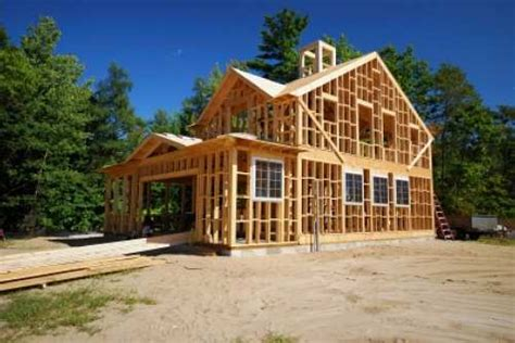 build a new home house framing structure raftertales home improvement