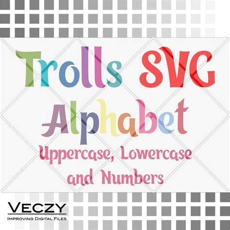 design kotf font download trolls svg alphabet trolls svg trolls birthday svg svg