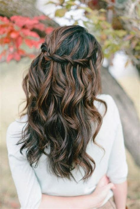 casual hairstyles tied up 39 half up half down hairstyles to make you look perfect