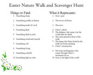 easter scavenger hunt bless this mess