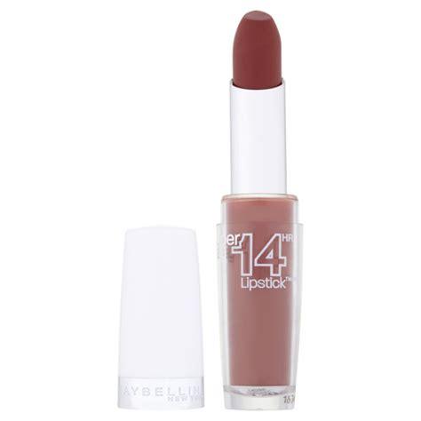 Lipstik Maybelline Lasting maybelline new york stay 14 hour lipstick lasting chestnut 720 free shipping