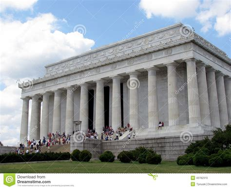 where is the lincoln memorial located in washington dc lincoln memorial washington dc editorial image image